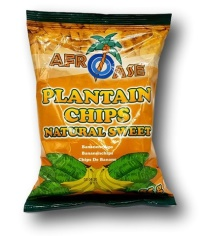 Plantain chips 85g AFROASE