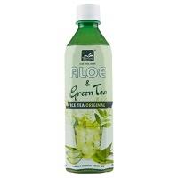 GREEN TEA & ALOE VERA DRINK 500ml TROPICAL