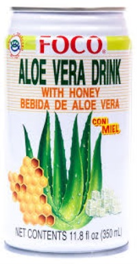ALOE VERA DRINK W/ HONEY 350ML FOCO
