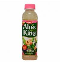 PEACH ALOE VERA DRINK 500ML ALOE VERA KING