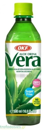 SUGAR FREE ALOE VERA DRINK 500ML OKF