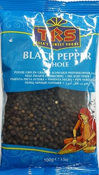 BLACK PEPPER WHOLE 100G TRS