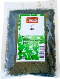 DRIED DILL 30G SIMMO