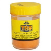 EGG YELLOW FOOD  COLOUR 25G TRS
