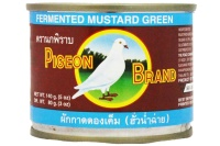 PICKLED MUSTARD GREEN IN SOY SAUCE 140G PIGEON BRAND