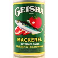 Geisha Macerel tomato sauce 155g