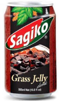 Grass jelly DRINK 320ml SAGIKO