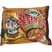 BULDAK CURRY HOT C. FLV. R. 140G SAMYANG