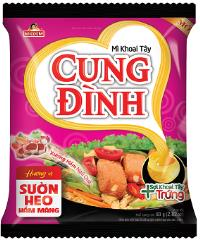 Inst. Noodles - Sparerib Bamboo Shoots Flav. 79g Cung Dinh