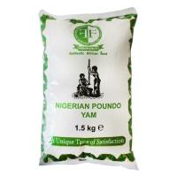 Nigerian poundo yam 1,5KG FolaFoods