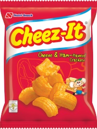 CHEEZE-IT CHEESE & HAM 60G NUTRI SNACK