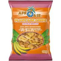 Plantain Chips Extra Sweet 80g AFROASE
