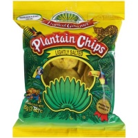 Lightly salted Plantain Chips 85g Tropical Gourment