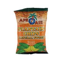 Plantain Chips Naturally Sweet 80G AFROASE