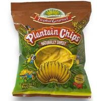 Plantain Chips sweet 85g Tropical Gourment