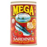Sardines 155g Mega