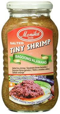 SALTED TINY SHRIMP BAGOONG ALAMANG 340G MONIKA