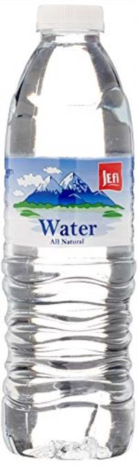 NONCARBONATED DRINKING WATER 500ML JEFI
