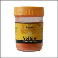 YELLOW FOOD COLOUR 25G SUPREME
